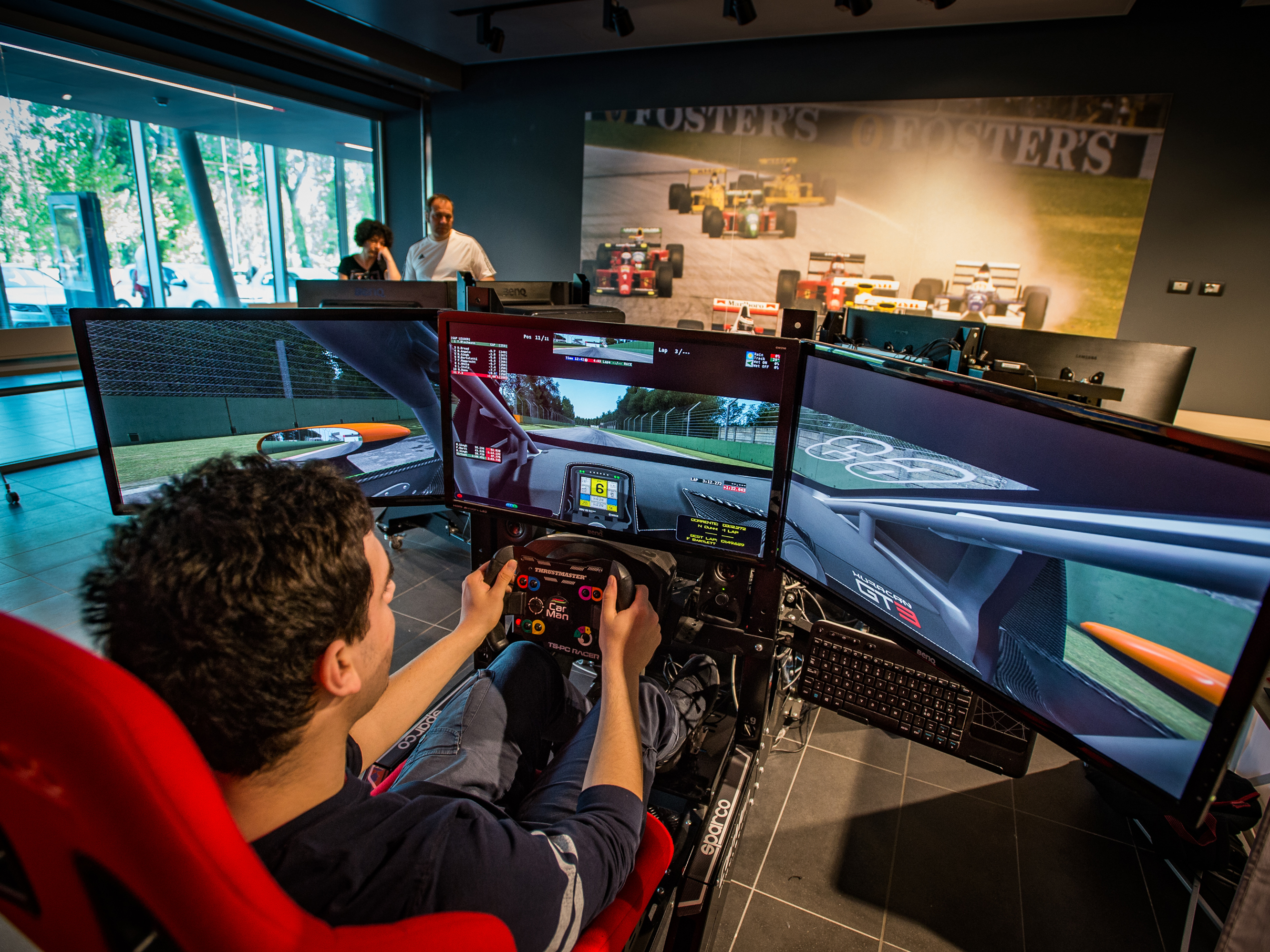 F1 SIMULATORS - Sim Speed Room | IF Imola Faenza Tourism