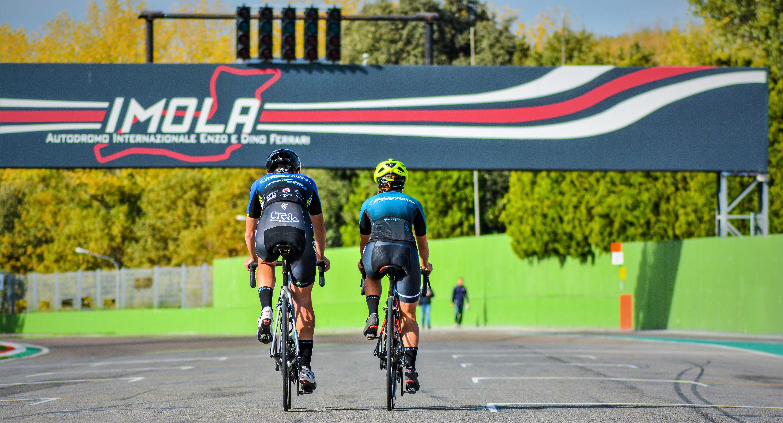 Ciclista in Pista