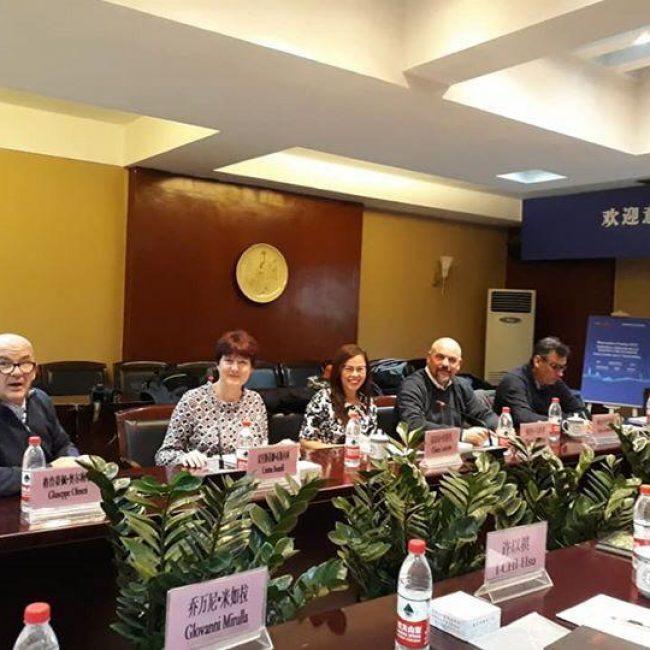 Visita in Cina della delegazione dell'Associazione Italiana Città della Ceramica-AiCC
