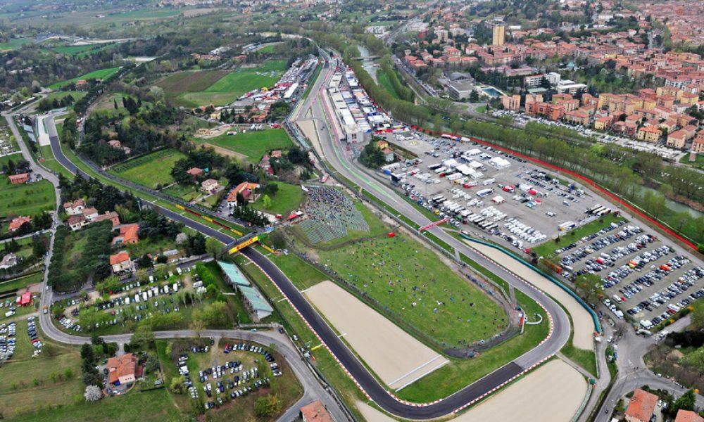 autodromo imola, vista aerea