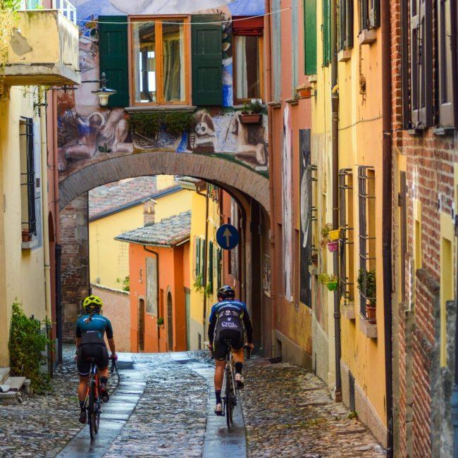 Imola to Dozza, among rolling hills