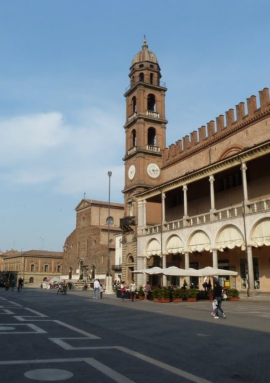piazza del popolo, Faenza